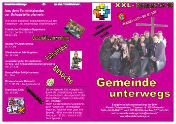 Gemeinde unterwegs 1-2009 - Evangelische Schaustellerseelsorge