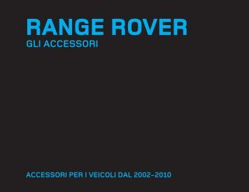 Accessori Range Rover 2009.indd - Land Rover