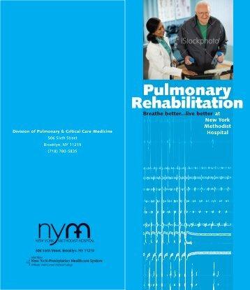Pulmonary Rehabilitation - New York Methodist Hospital