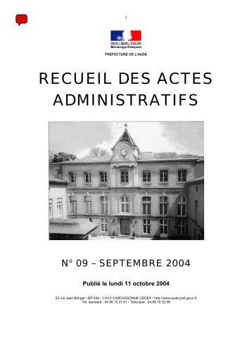 Raa_Septembre_2004 - AUDE