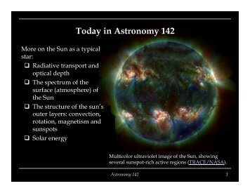 Today in Astronomy 142 - Astro Pas Rochester