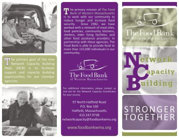 Learn more about Network Capacity Building. - Food Bank of ...