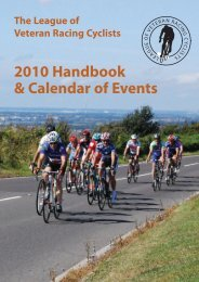 2010 Handbook & Calendar of Events - LVRC
