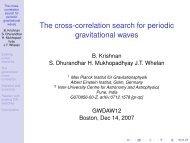 The cross-correlation search for periodic gravitational waves - LIGO