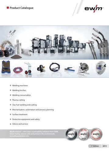 Product Catalogue - EWM Hightec Welding GmbH