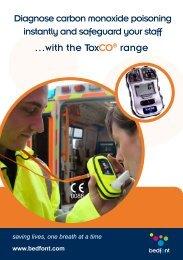 ToxCO Catalogue - Bedfont Scientific