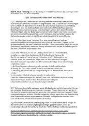 § 22 Leistungen für Unterkunft und Heizung