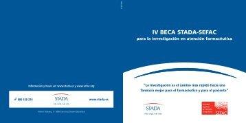 Descargar bases de la IV Beca STADA-SEFAC