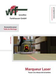 Marqueur Laser - woodtec Fankhauser GmbH