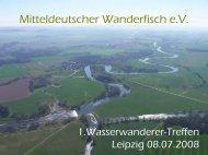 1.Wasserwanderer-Treffen - Mitteldeutscher Wanderfisch eV