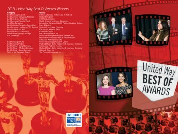 2013 United Way Best Of Awards Winners - United Way of Central ...