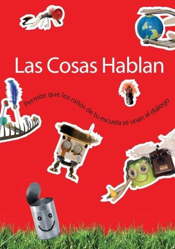 Las Cosas Hablan Volante (pdf) - Things Talk