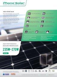 235w-270w - Phono Solar