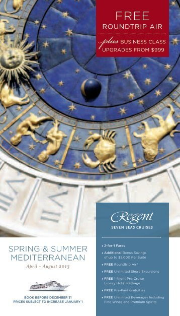 enjoy - Regent Seven Seas Cruises