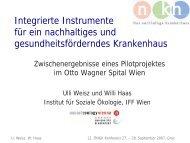 Integrierte Instrumente für ein nachhaltiges und ... - ONGKG
