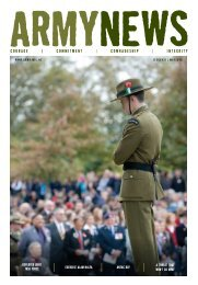 courage | commitment | comraDeship | integrity - New Zealand Army