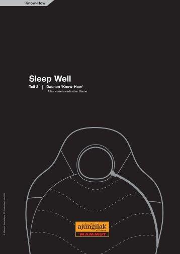 Sleep Well - Albatros