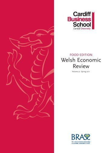 The Welsh Economic Review 22: Spring 2011 - Cardiff Business ...
