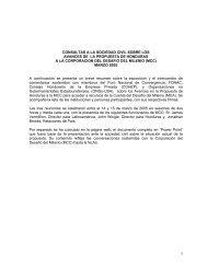 Resumen de Consultas, Marzo 05 - Cuenta del Milenio - Honduras