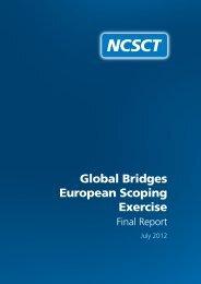 Global Bridges European Scoping Exercise - NCSCT