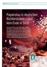 Elektronischer Rechtsverkehr - FACTS Verlag GmbH