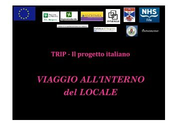 VIAGGIO ALL'INTERNO del LOCALE