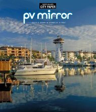 SATURDAY 1 FRIDAY 7 ISSUE 202 SEPTEMBER ... - pvmcitypaper