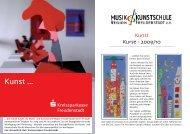 Flyer 2009/10 - musik- und kunstschule region freudenstadt ev
