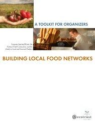 Building a Successful Local Food Model - Strategic Alliance