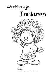 Werkbladen indianen