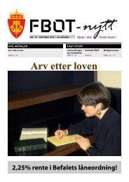 FBOT-nytt oktober 2012 - Forsvaret
