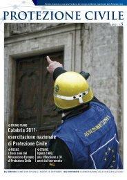 anno I, n. 5 - Dipartimento della Protezione Civile
