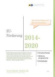 EU- Förderung - Heide Rühle
