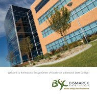 Welcome to the National Energy Center of Excellence at Bismarck ...
