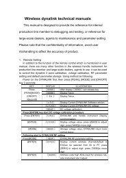 ERT Wireless dynalink technical manuals.pdf - Vetek Scales