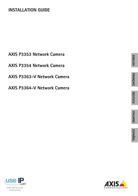 AXIS P3364-V NETWORK CAMERA WINDOWS XP DRIVER DOWNLOAD