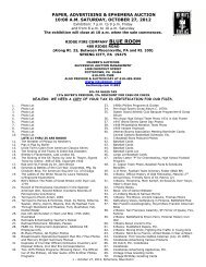 paper, advertising & ephemera auction 10:00 am - Maurer Toy Train ...