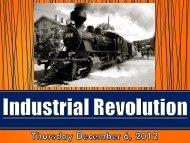12_01 Industrial Rev_ Notes