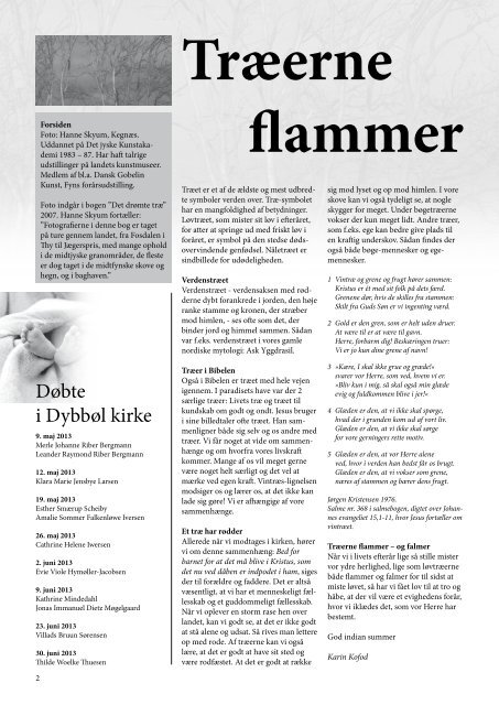 Kirkebladet september 2013 - Dybbøl Kirke