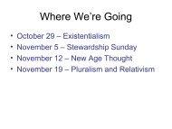 Sojourners-The Universe Next Door-Existentialism