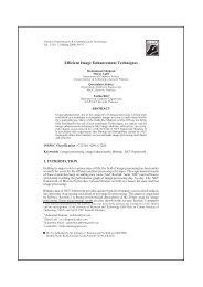 Efficient Image Enhancement Techniques - Institute of Business ...