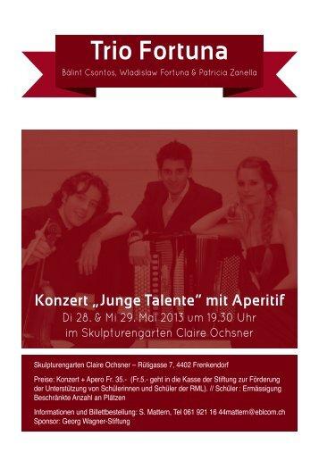Trio Fortuna - Claire Ochsner