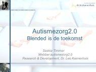 Autismezorg2.0 - Dr. Leo Kannerhuis