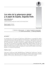 13 - LOS RETOS DE LA GOBERNANZA GLOBAL Y EL PAPEL DE ...