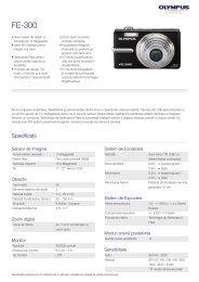 FE-300, Olympus, Compact Cameras