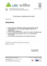 Sayı: TİM.UİB.GSK.ARGE.2013/611-4901 Bursa, 17/05/2013 Konu ...