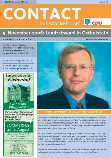 Contact 100 - CDU OV Stockelsdorf