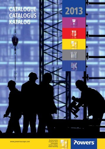 2013 catalogue catalogus katalog - bei Powers Europe