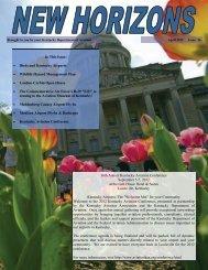 New Horizions-Spring 2012 - Kentucky Transportation Cabinet