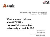 What you need to know about PDF/UA – the new ISO standard for ...